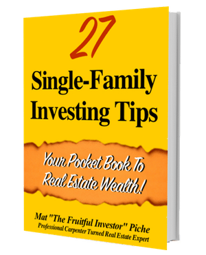 Get 27 Single Family Tips FREE!
