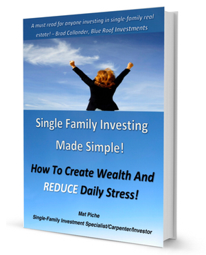 "Get ""Single Family Investing Made Simple"" FREE!"